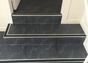 clean service for stairs